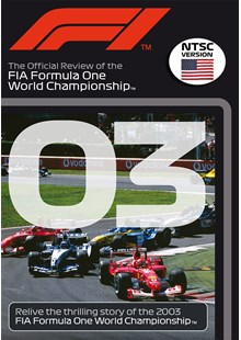 F1 2003 Official Review NTSC DVD