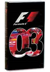 The Official Formula One Review 2003 VHS
