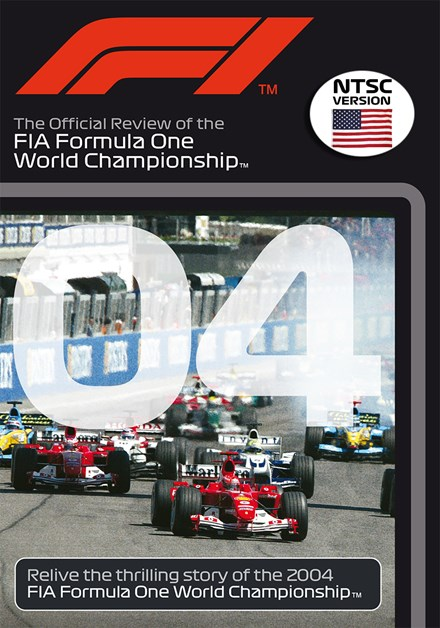 F1 2004 Official Review NTSC DVD