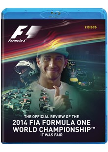F1 2014 Official Review (2 Disc)  Blu-ray