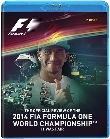F1 2014 Review (2 Disc)  Blu-ray - click to enlarge
