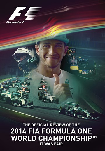 2014 FIA Formula One World Championship DVD - click to enlarge