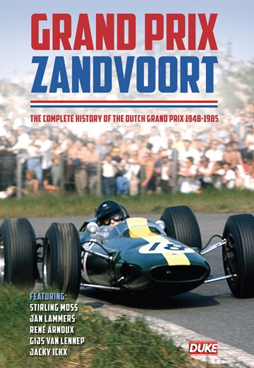 Grand Prix Zandvoort Story DVD - click to enlarge