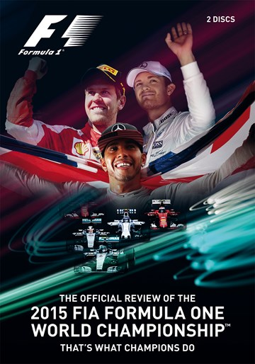 F1 2015 Official Review  (2 Disc) DVD - click to enlarge