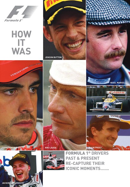 F1 How It Was DVD