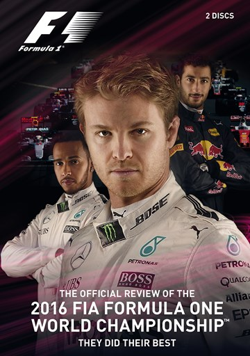 F1 2016 Official Review DVD - click to enlarge
