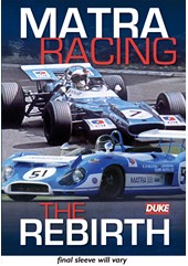 Matra Racing - The Rebirth NTSC DVD