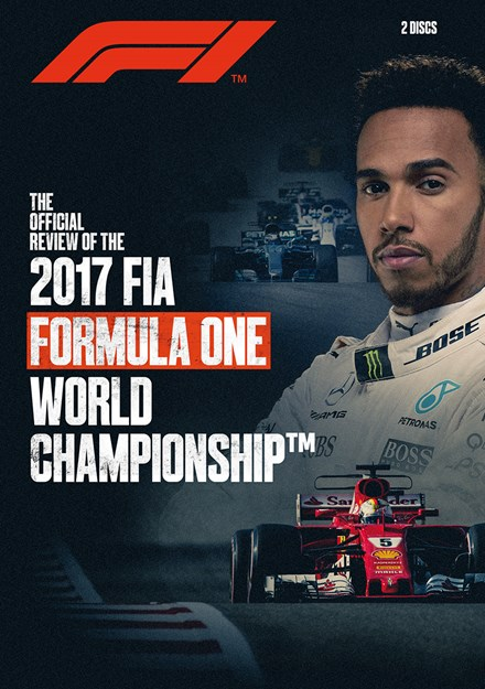 F1 2017 Official Review NTSC DVD