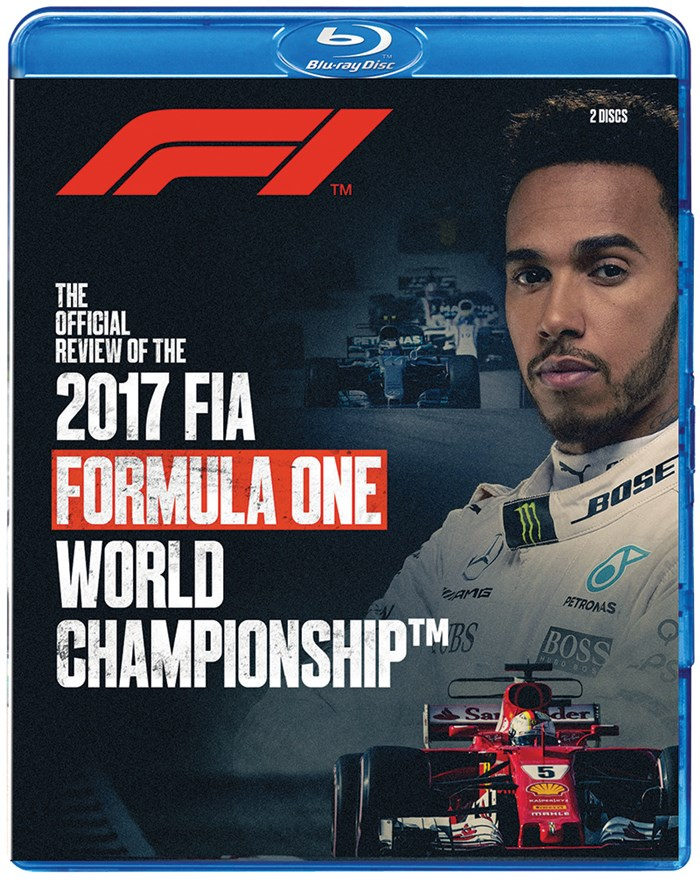 F1 2017 Official Review Blu-ray