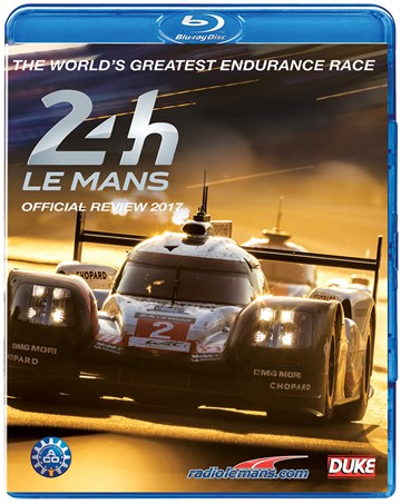 Le Mans 2017 Blu-ray - click to enlarge