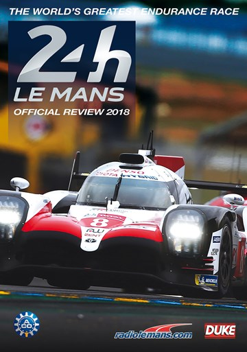 Le Mans 2018 Blu-ray - click to enlarge
