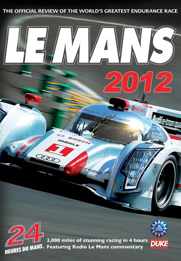 Le Mans 2012 DVD - click to enlarge