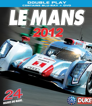 Le Mans 2012 Blu-ray incl PAL DVD - click to enlarge