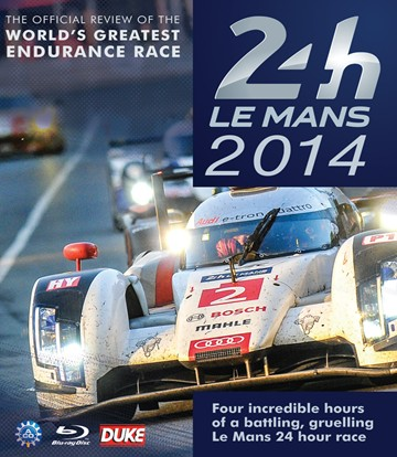 Le Mans 2014 Blu-ray - click to enlarge