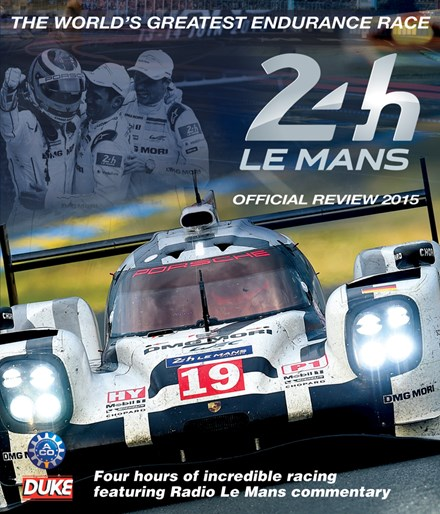 Le Mans 2015 Blu-ray