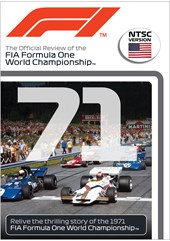 F1 1971 Official Review NTSC DVD