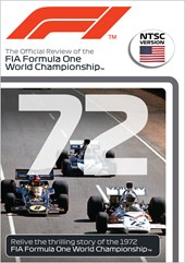 F1 1972 Review Fittipaldis Year NTSC DVD