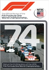 F1 1974 Official Review NTSC DVD