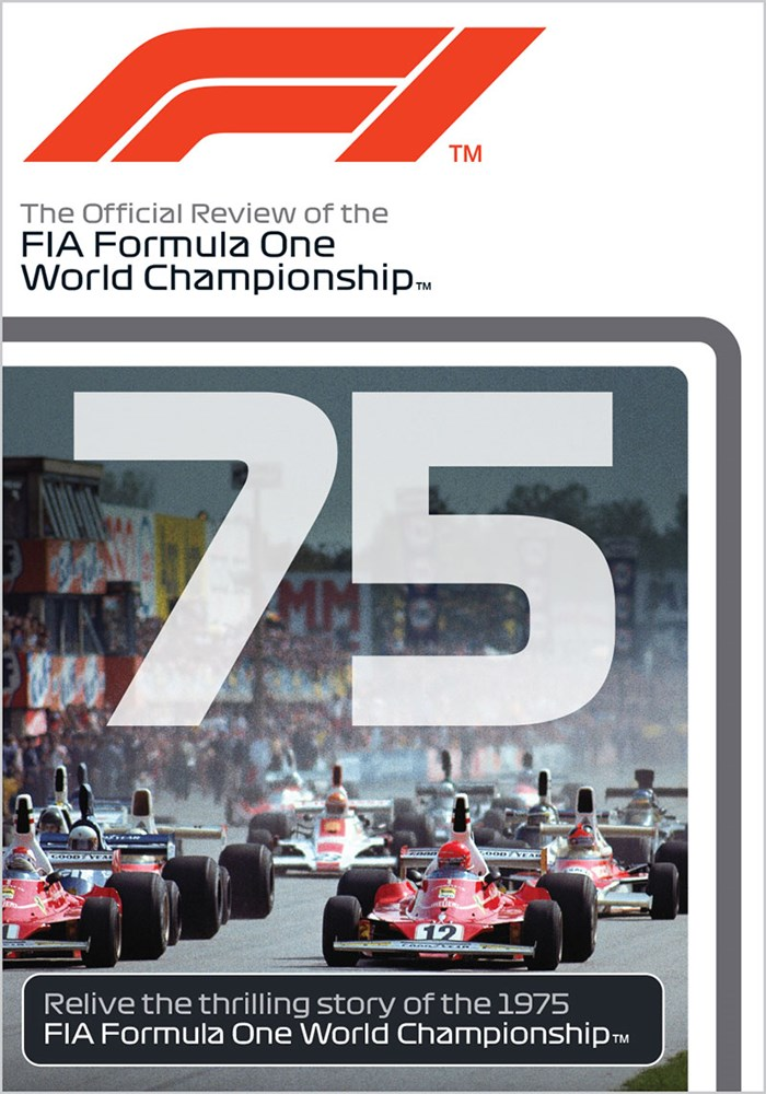 F1 1975 Official Review DVD