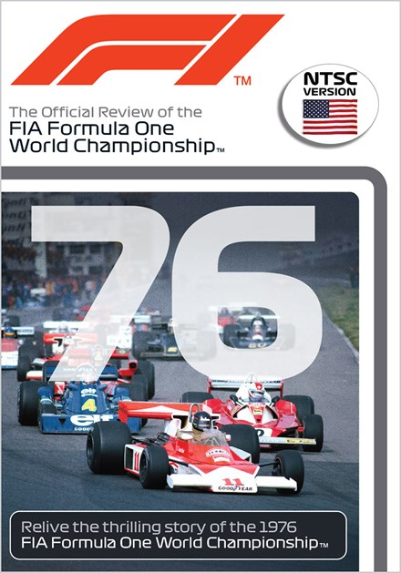 F1 1976 - Hunt For the Title DVD