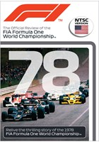F1 1978 Official Review NTSC DVD