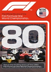 F1 1980 Review Double First Williams & Jones NTSC DVD