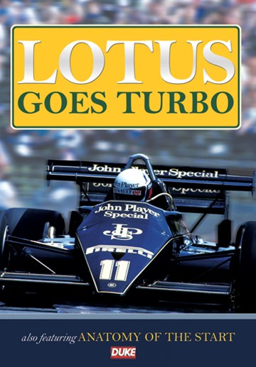Lotus Goes Turbo DVD - click to enlarge