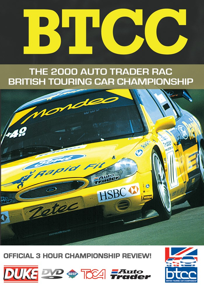 BTCC Review 2000 DVD