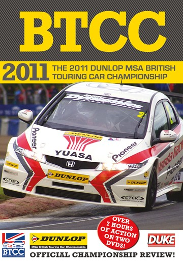 BTCC 2011 Review (2 Disc) DVD - click to enlarge