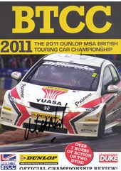 BTCC 2011 Review (2 Disc) DVD Signed by Matt Neal