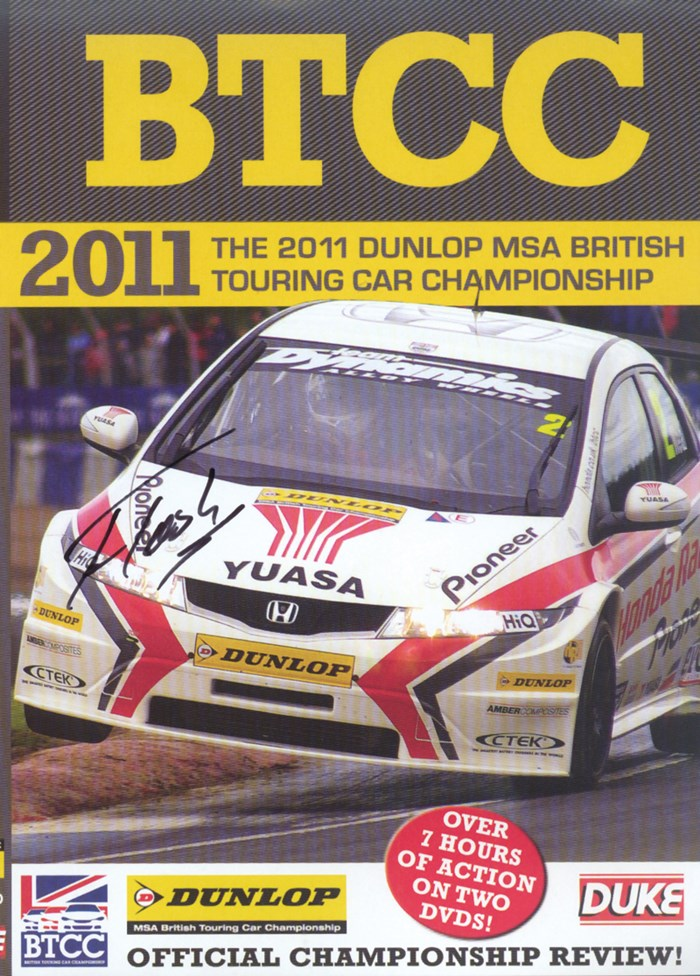 BTCC 2011 Review (2 Disc) Signed by Gordon Shedden
