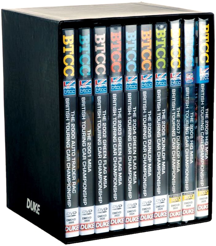 BTCC 2000-09 10-DVD Box Set