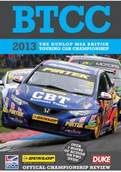 BTCC 2013 Review (2 Disc) DVD