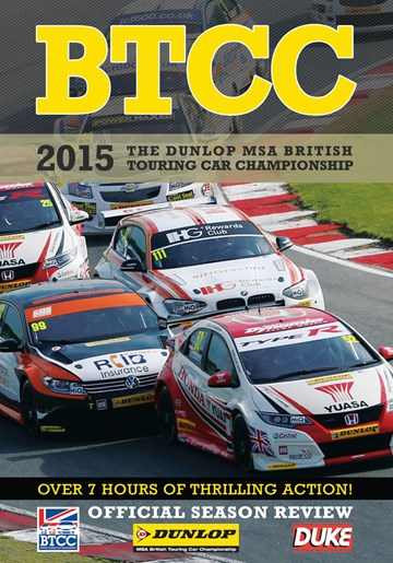 BTCC 2015 Review (2 Disc) DVD - click to enlarge