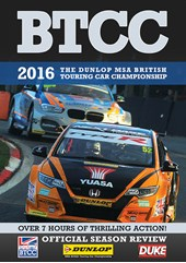 BTCC 2016 Review (2 Disc) DVD