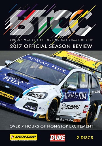 BTCC 2017 Review (2 Disc) DVD - click to enlarge