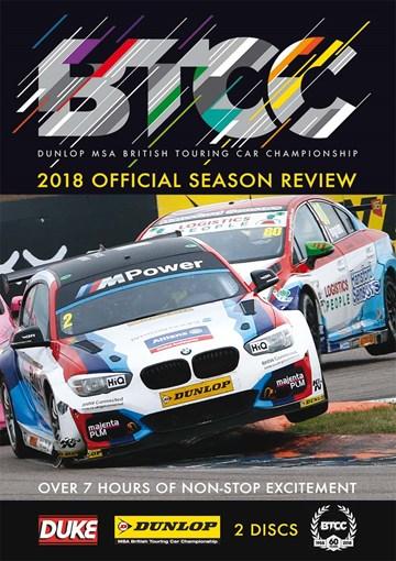 BTCC 2018 Review (2 Disc) DVD - click to enlarge