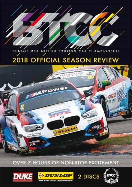 BTCC 2018 Review (2 Disc) DVD