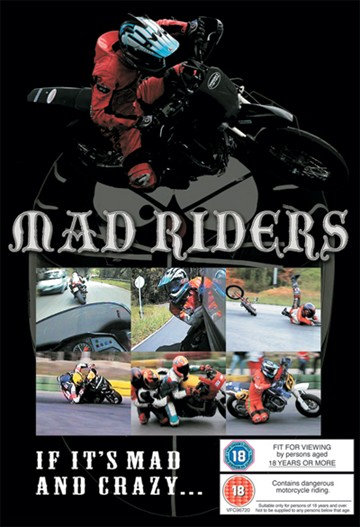 Mad Riders DVD NTSC - click to enlarge