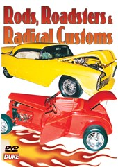 Rods, Roadsters and Radical Customs DVD