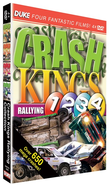 The Complete Crash Kings Rallying (4 DVD Disc Set) - click to enlarge