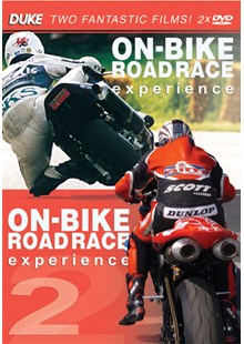 On Bike Road Race Experience 1 & 2 (2 DVD Disc Set)