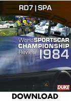 World Sportscar 1984 - Round 7 - Spa-Francorchamps - Download