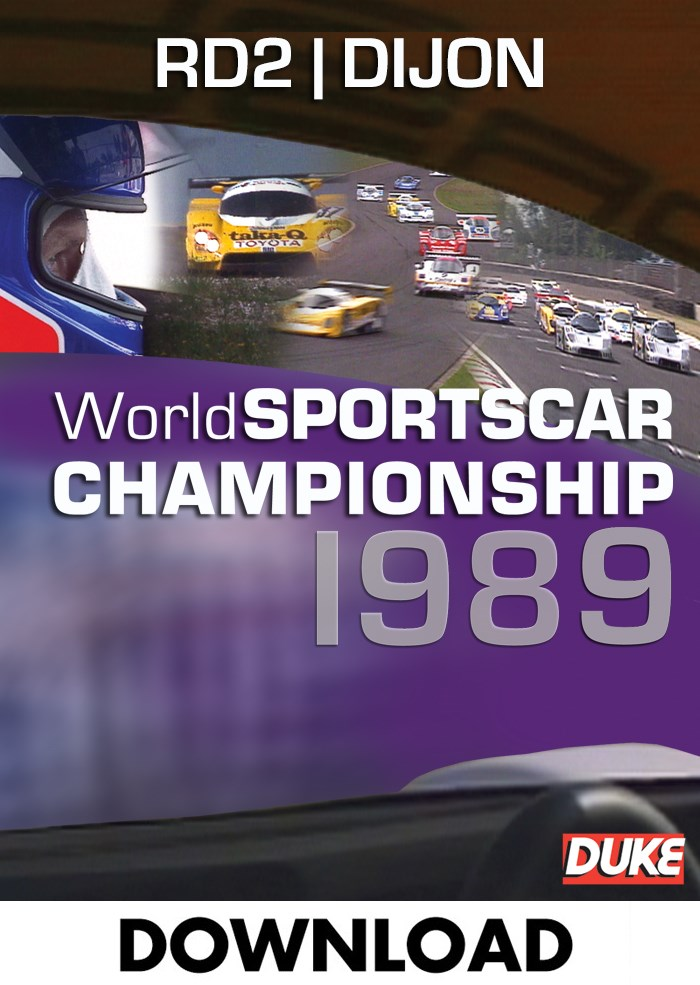 World Sportscar 1989 - Round 2 - Dijon -  Download