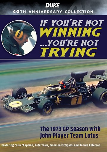 If You're Not Winning... You're Not Trying DVD - click to enlarge