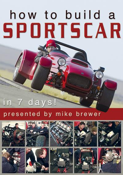 How To Build A Sportscar DVD