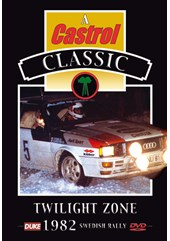 Twilight Zone - Swedish Rally 1982 DVD