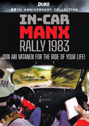 In-Car Manx Rally 1983 DVD - click to enlarge