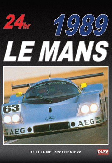 Le Mans 1989 DVD - click to enlarge