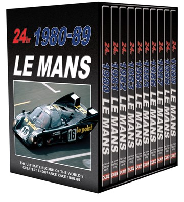 Le Mans Collection 1980-89 (10 DVD) Box Set - click to enlarge